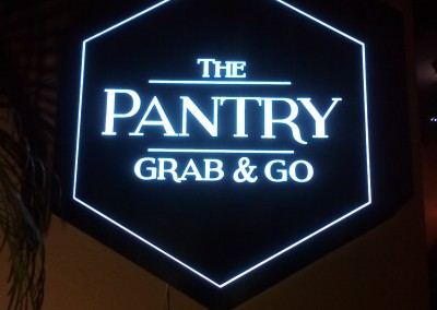 The Pantry Signage